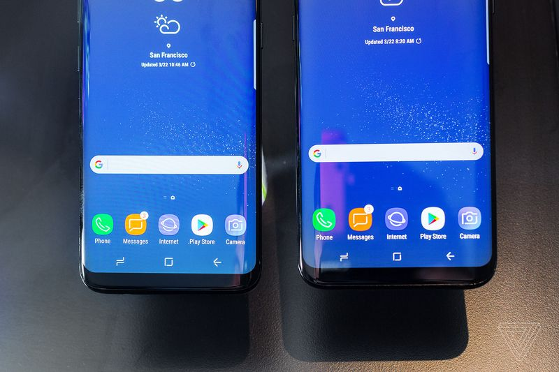 Samsung moved the home button