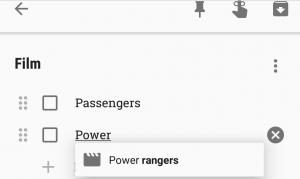 Google Keep يدعم الإكمال التلقائي لعناوين الأفلام والبرامج التلفزيونية