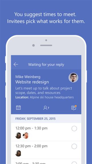 مايكروسوفت تطرح جديدها تطبيق Invite على iOS