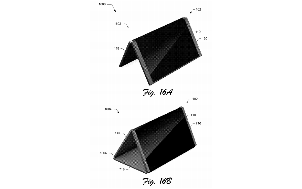 Microsoft patents- foldable mobile