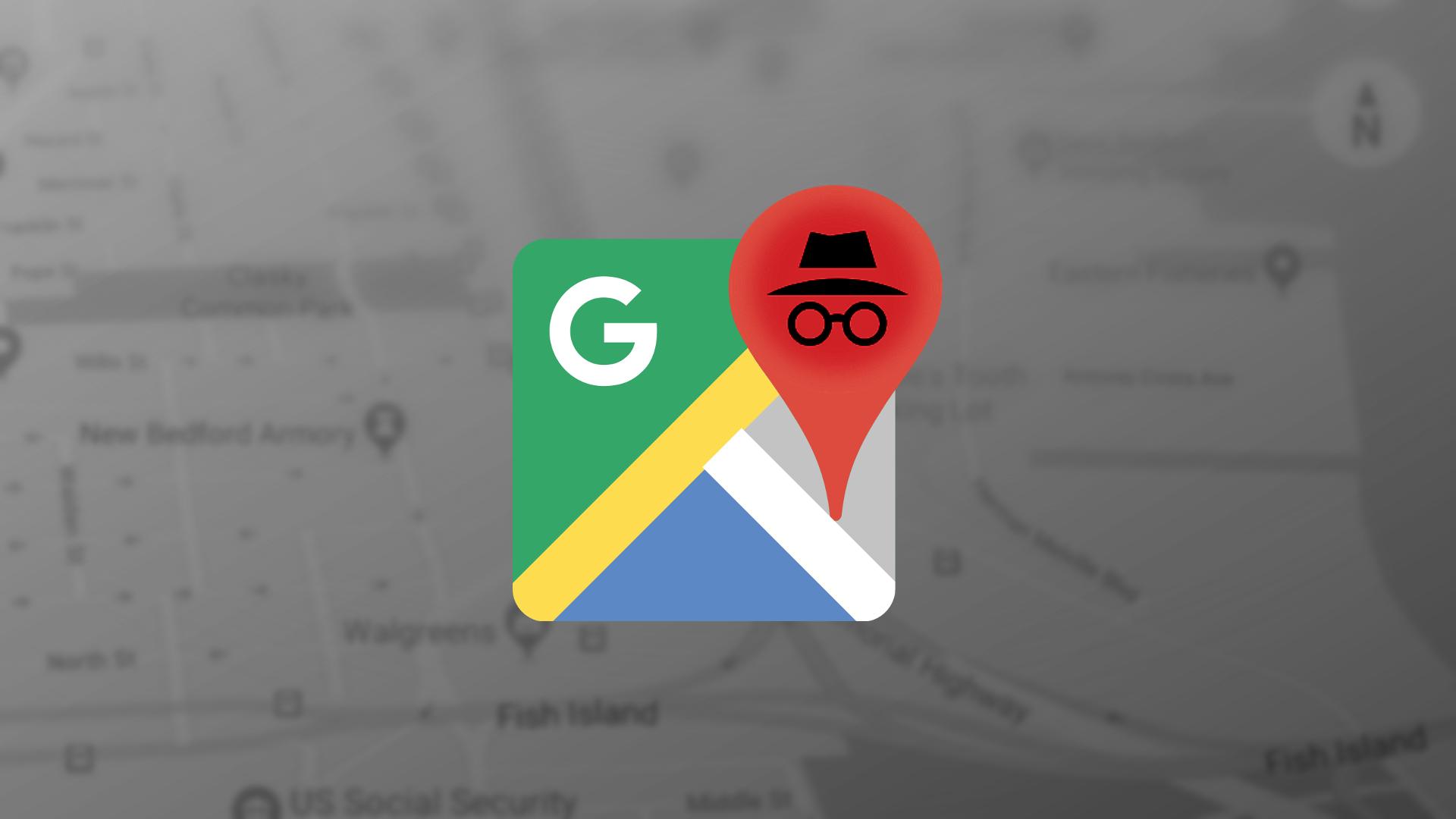 """صورة نسخة معاينة """"اختبار"""" من تطبيق خرائط جوجل تأتي بميزة التصفح الخفي"""