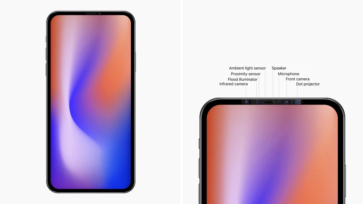 صورة تقرير يؤكد خطط ابل للتخلص من نتوء الشاشة في إصدارات الأيفون 2020