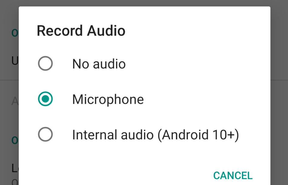 صورة تطبيق ADV Screen Recorder يضيف الدعم لالتقاط الصوت الداخلي في أندرويد 10