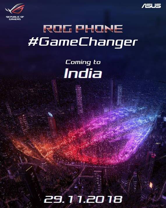 Photo of هاتف الألعاب ASUS ROG ينطلق في الهند يوم 29 من نوفمبر