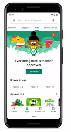 Photo of جوجل بلاي يطلق قسم متخصص بتطبيقات الأطفال