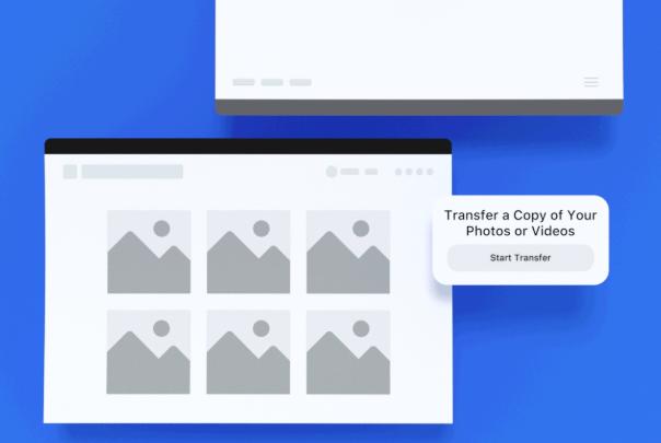 Photo of فيس بوك تطور أداة لنقل الصور المرفوعة عليها إلى صور جوجل