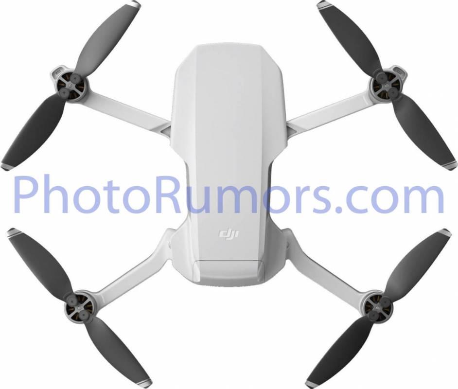 صورة تسريبات مصورة لطائرة DJI Mavic Mini قبل الإعلان الرسمي هذا الأسبوع