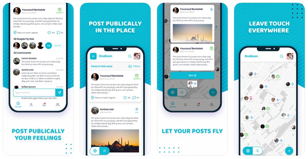Photo of جديد التطبيقات: Dndleon شبكة اجتماعية على أندرويد و iOS