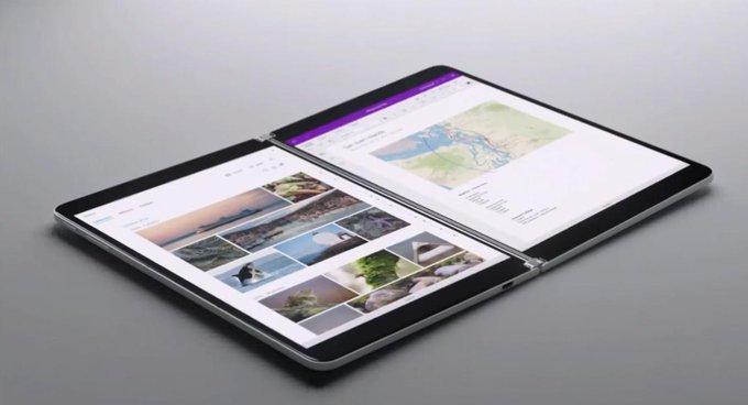 Photo of مايكروسوفت تكشف جهاز Surface Neo بشاشة مزدوجة ومعالج إنتل Lakefield
