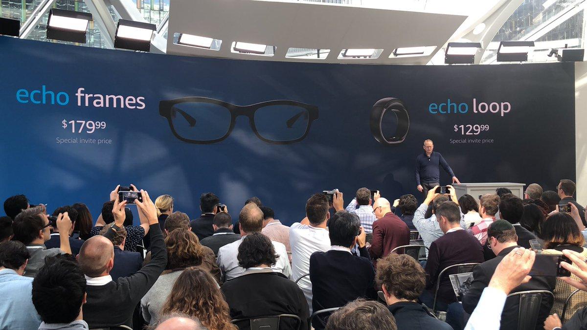Photo of امازون تكشف عن النظارة الذكية Echo Frames و الخاتم الذكي Echo Loop