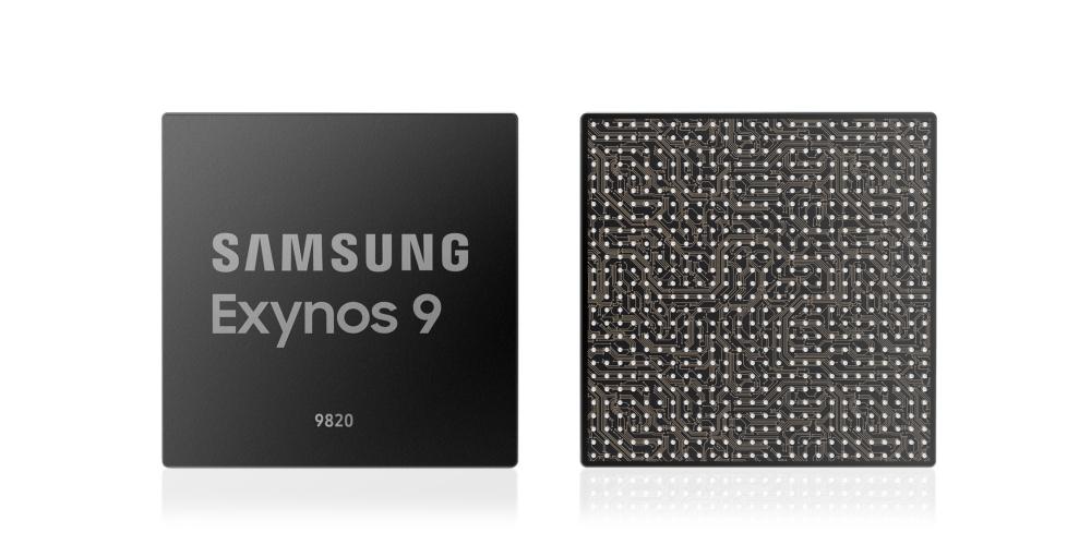 Photo of معالج سامسونج Exynos 9820 يحمل 2.0 جيجابايت LTE ووحدة معالجة عصبية