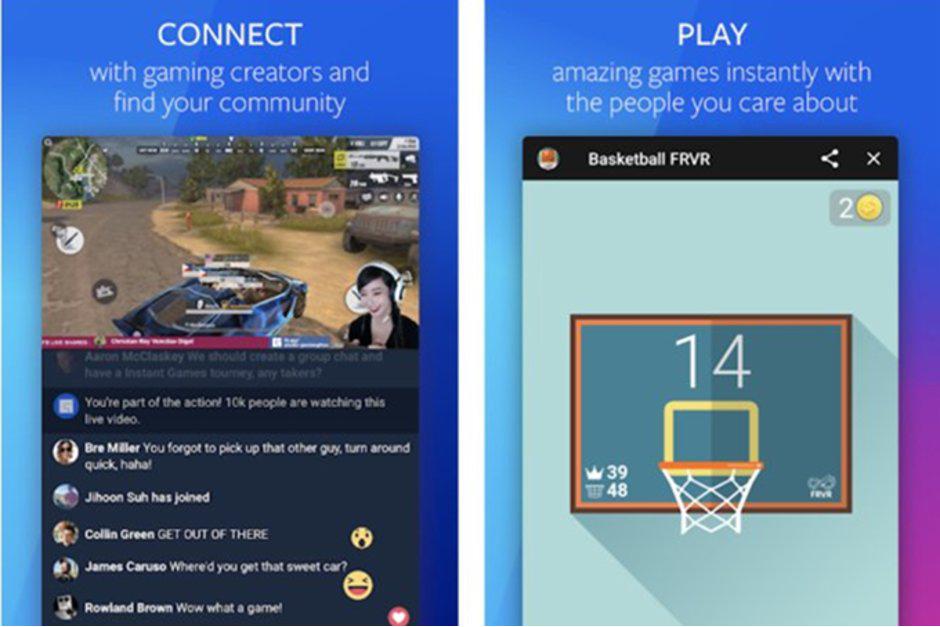 صورة Facebook تطلق إصدار تجريبي من تطبيق الألعاب للأندوريد