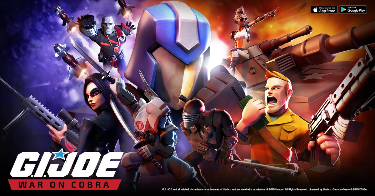 صورة اللعبة الاستراتيجية G.I. Joe: War On Cobra متاحة الآن على أندرويد و iOS
