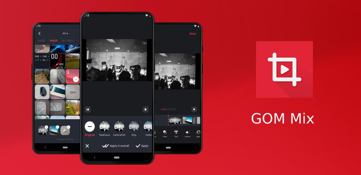 Photo of موقع GOM Mix يُطلق تطبيقه الخاص لتحرير الفيديو على أندرويد