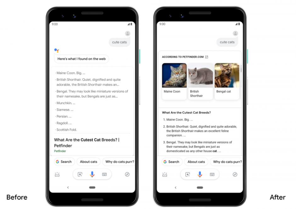Photo of جوجل تضيف بعض التحسينات المرئية على مساعدها الإفتراضي