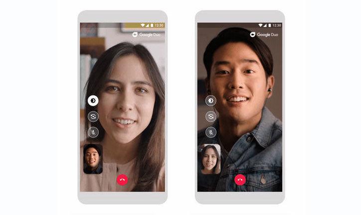 Photo of جوجل تجلب نمط خاص للإضاءة المنخفضة في مكالمات الفيديو في تطبيق Duo