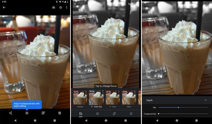 صورة قوقل تختبر تأثيراتBokeh و Color Pop في تطبيقها صور قوقل