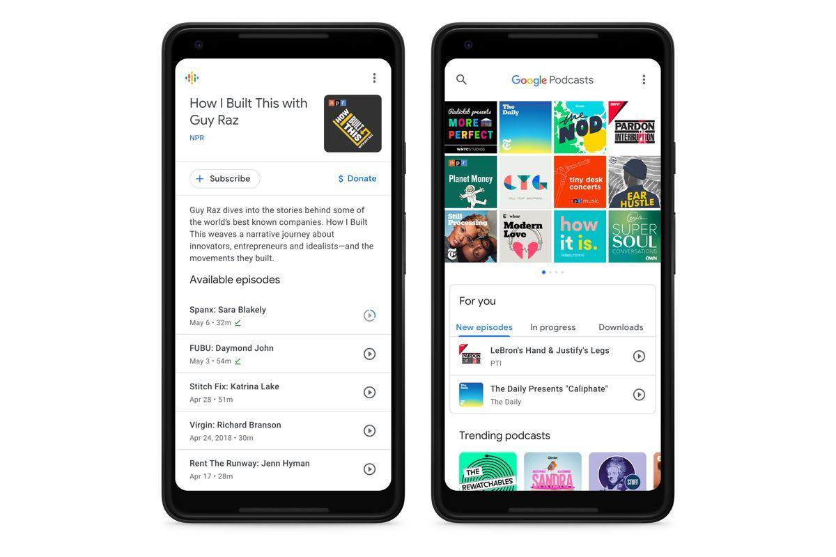 Photo of جوجل تُحدّث تطبيقها البودكاست بدعمه لمحوّل حسابات جديد