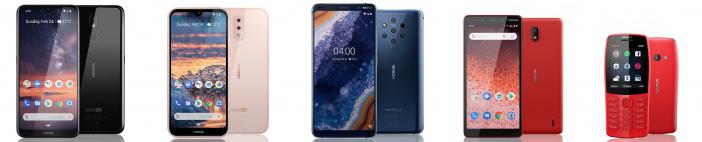 صورة HMD تعلن عن هواتف Nokia 1 Plus وNokia 3.2 وNokia 4.2 وأيضاً Nokia 210 في  #MWC2019