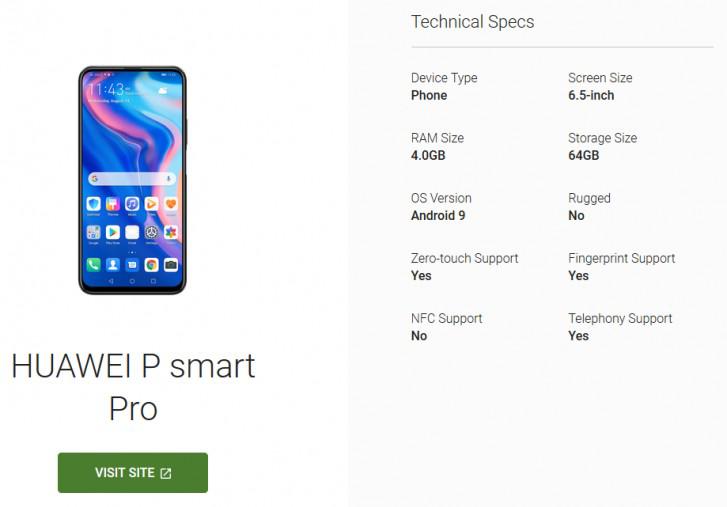 Photo of رصد مواصفات هاتف هواوي P smart Pro قبل الإعلان الرسمي