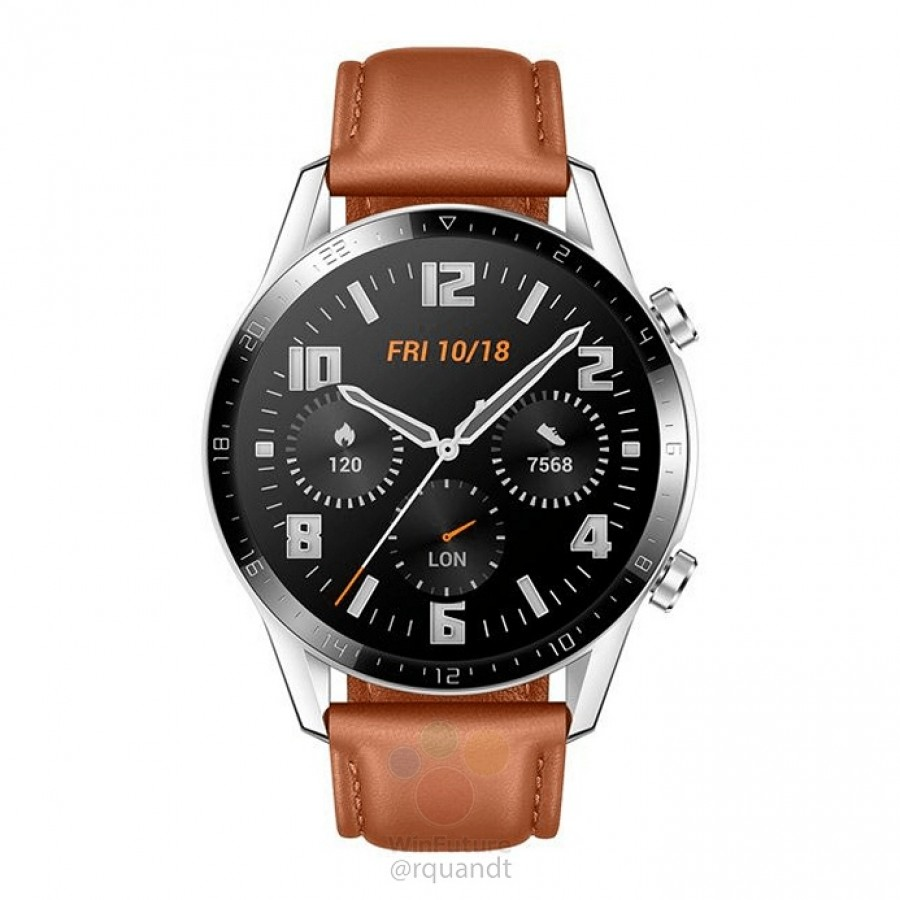 Photo of تسريبات مصورة تكشف عن ساعة Watch GT 2 من هواوي بإطار أصغر