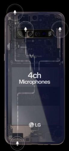 صورة تسريبات مصورة لهاتف LG V60 ThinQ تؤكد على بطارية بقدرة 5000 mAh