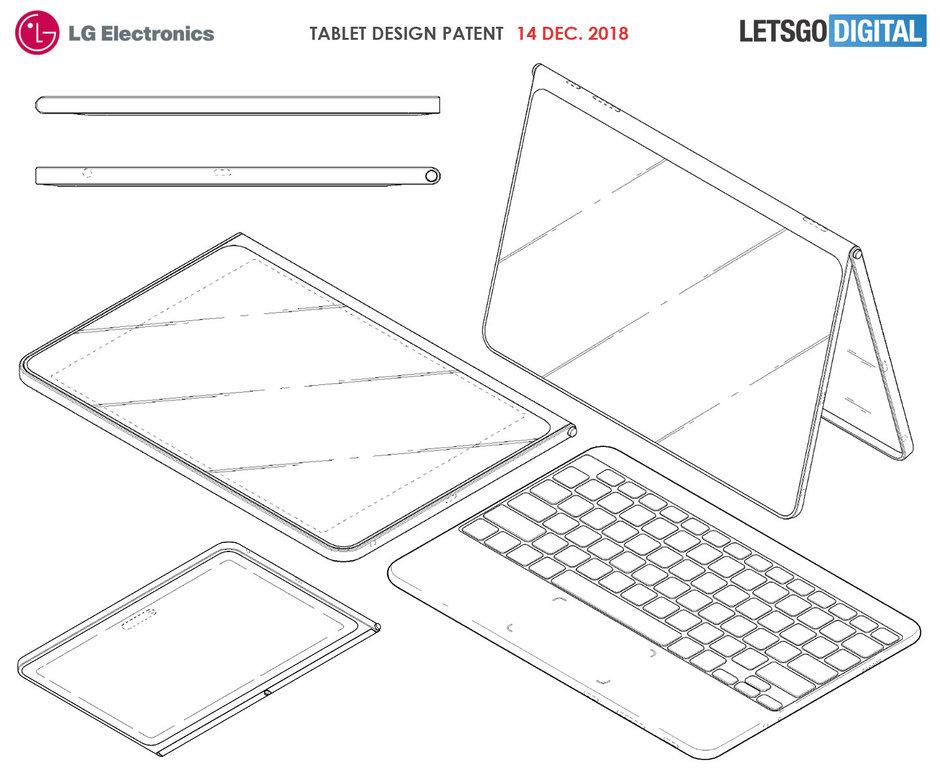 صورة LG تخطط لإطلاق جهاز لوحي يضم لوحة مفاتيح تتصل لاسليكاً بالجهاز