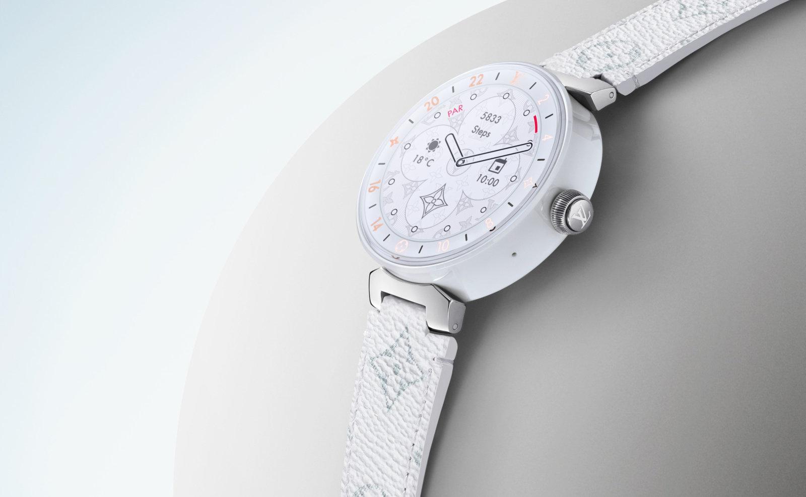 Photo of إصدار 2019 من ساعات Louis Vuitton يضم رقاقة Wear 3100