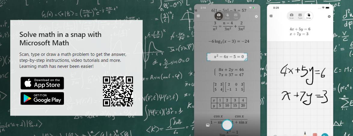 Photo of Math solver تطبيق جديد من مايكروسوفت لحل المسائل الرياضية عبر الذكاء الاصطناعي
