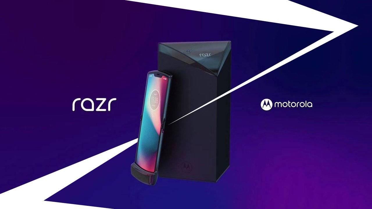 صورة هاتف موتورولا القابل للطي Motorola Razr يصل في الربع الأخير من 2019