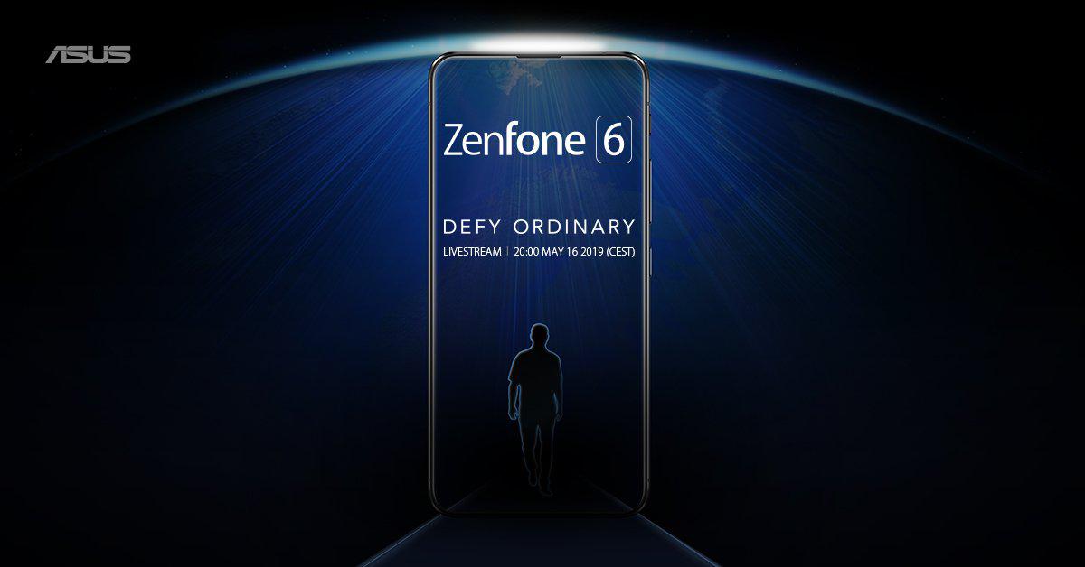 صورة إعلان تشويقي جديد من Asus لهاتفها القادم Zenfone 6
