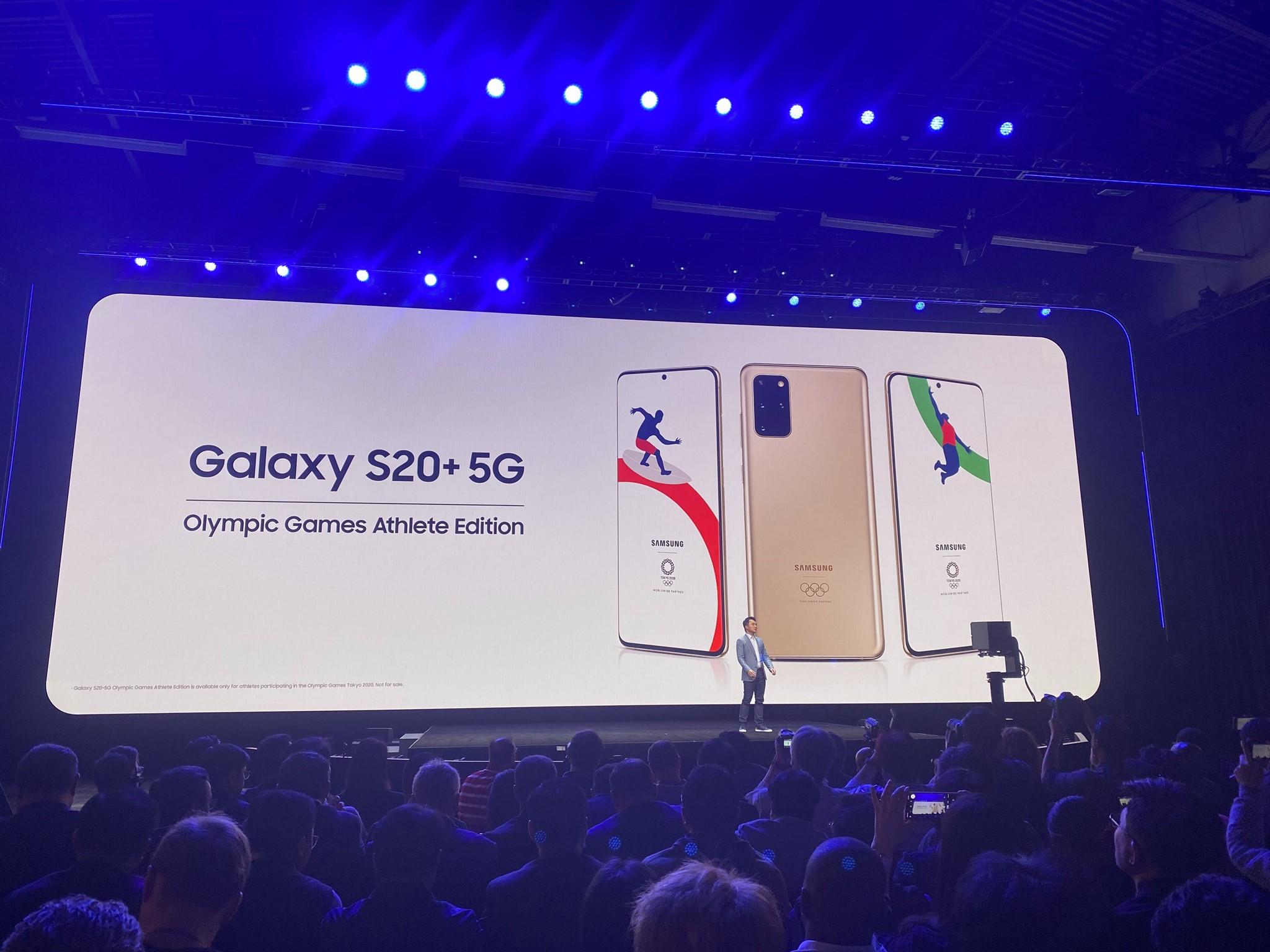 Photo of سامسونج تكشف عن إصدارها الخاص بأولمبياد طوكيو 2020 من هاتف Galaxy S20 Plus 5G
