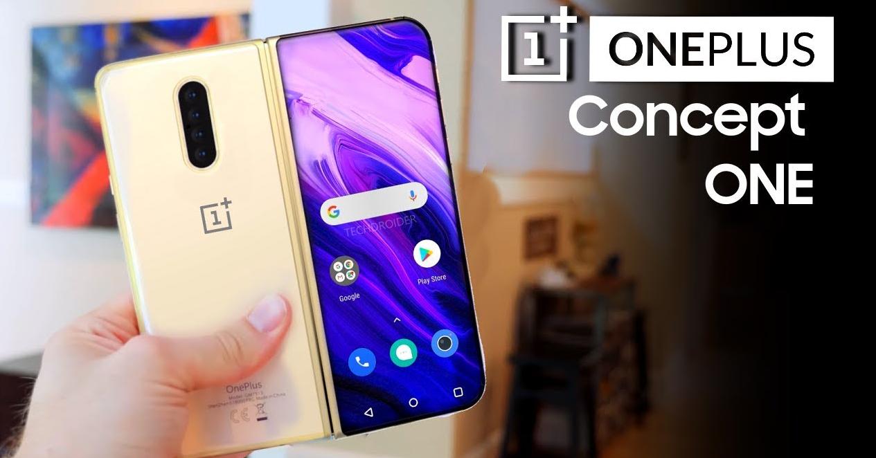 Photo of توقعات تشير إلى أن Concept One هو هاتف وان بلس الأول بتصميم قابل للطي