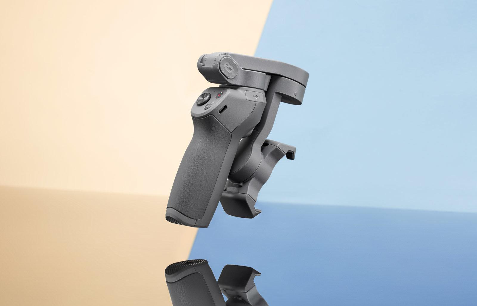 صورة DJI تقدم رسمياً Osmo 3 بتصميم قابل للطي وسعر 119 دولار فقط