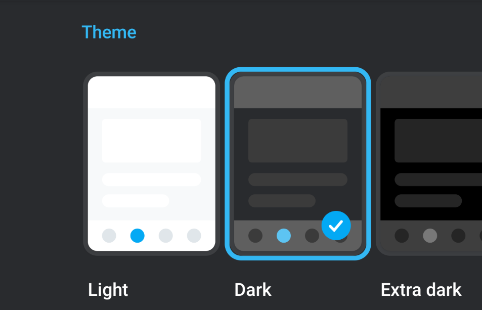 صورة تطبيق Pocket Casts يدعم الآن تفعيل الوضع المُظلم حسب إعداد النظام