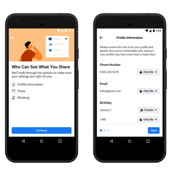 Photo of فيس بوك تطلق خيارات التحكم بالخصوصية الجديدة