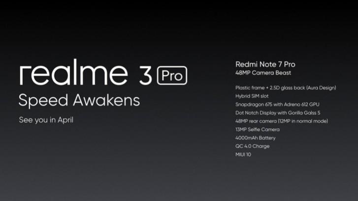 Photo of Realme تستعد للإعلان عن هاتف Realme 3 Pro في شهر أبريل