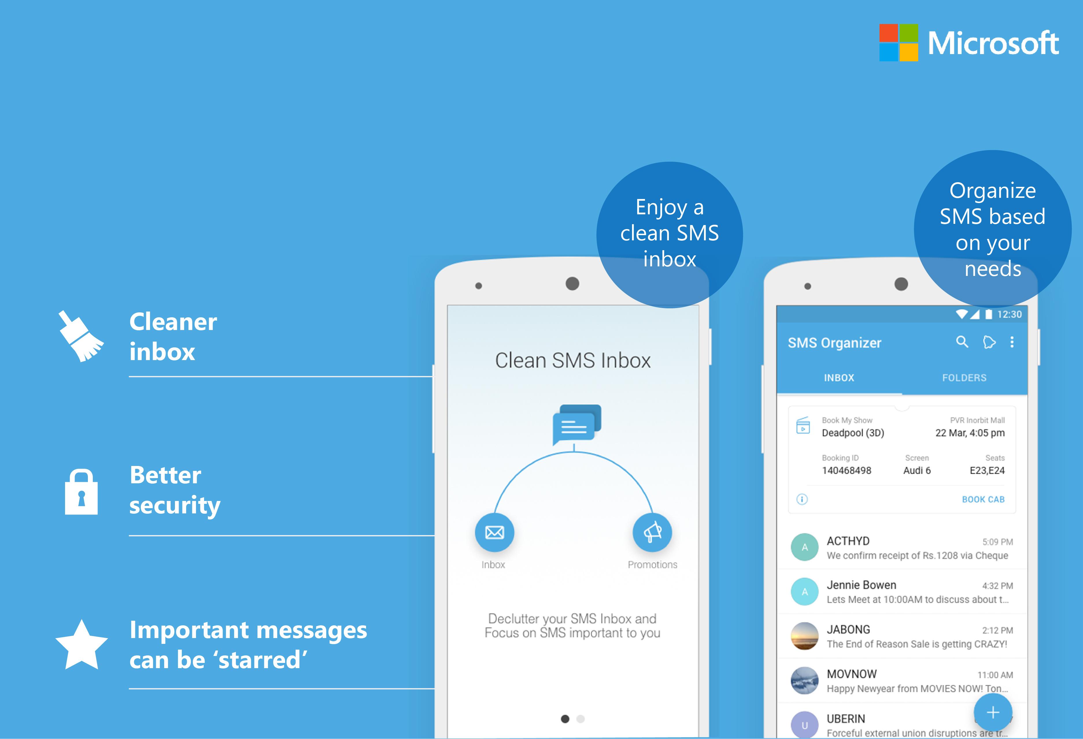 Photo of تطبيق SMS Organizer من مايكروسوفت أصبح متاح بالعديد من المناطق الجديدة