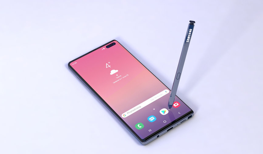 Photo of هاتف Galaxy Note10 Pro يأتي بشاحن مميز بقدرة 25W فقط
