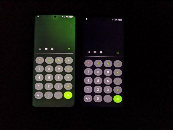 صورة سامسونج تبدأ في دفع تحديث جديد لمعالجة مشكلة اللون الأخضر في Galaxy S20 Ultra