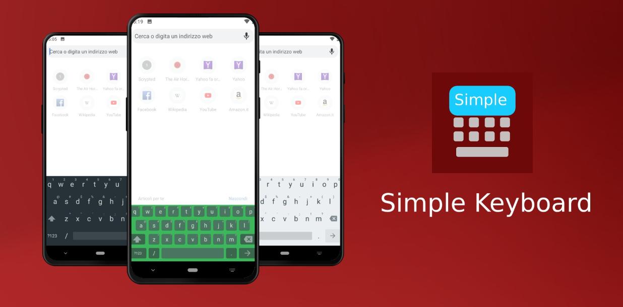 Photo of تطبيق Simple Keyboard لوحة مفاتيح مثالية لأولئك الذين يحتاجون فقط إلى الكتابة