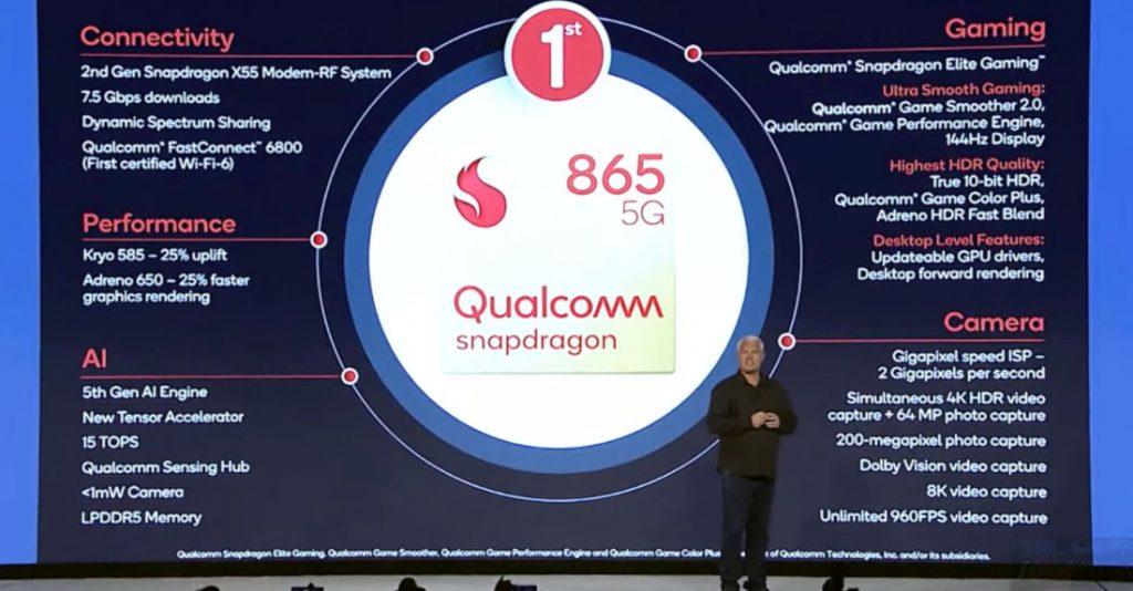 Photo of نتائج إختبارات AnTuTu لآداء معالج كوالكوم الجديد Snapdragon 865