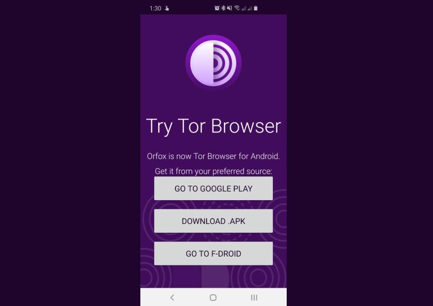 صورة رسميًا: توقف تطبيق Orfox لصالح متصفح Tor على أندرويد