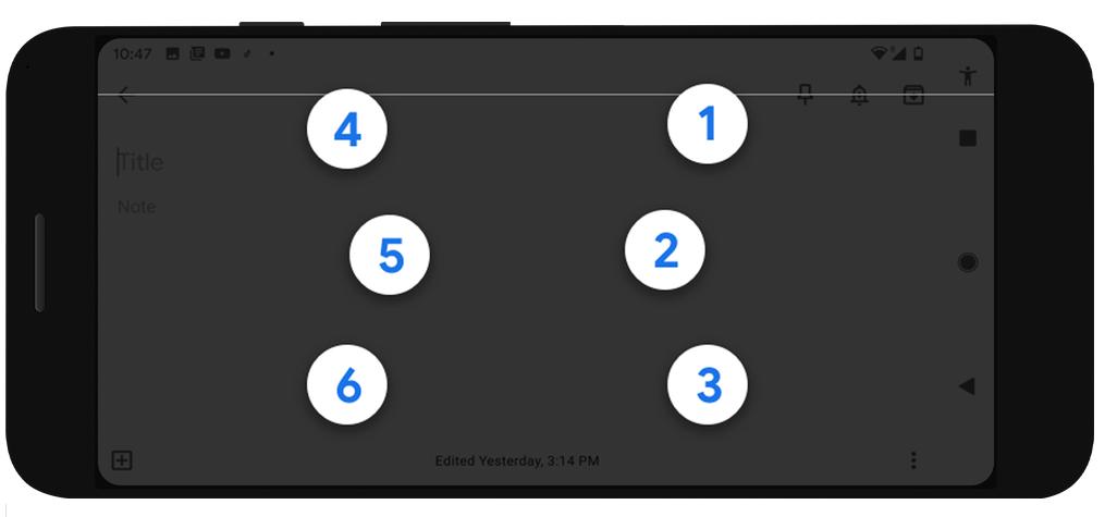 Photo of TalkBack لوحة مفاتيح برايل من جوجل لمستخدمي أندرويد