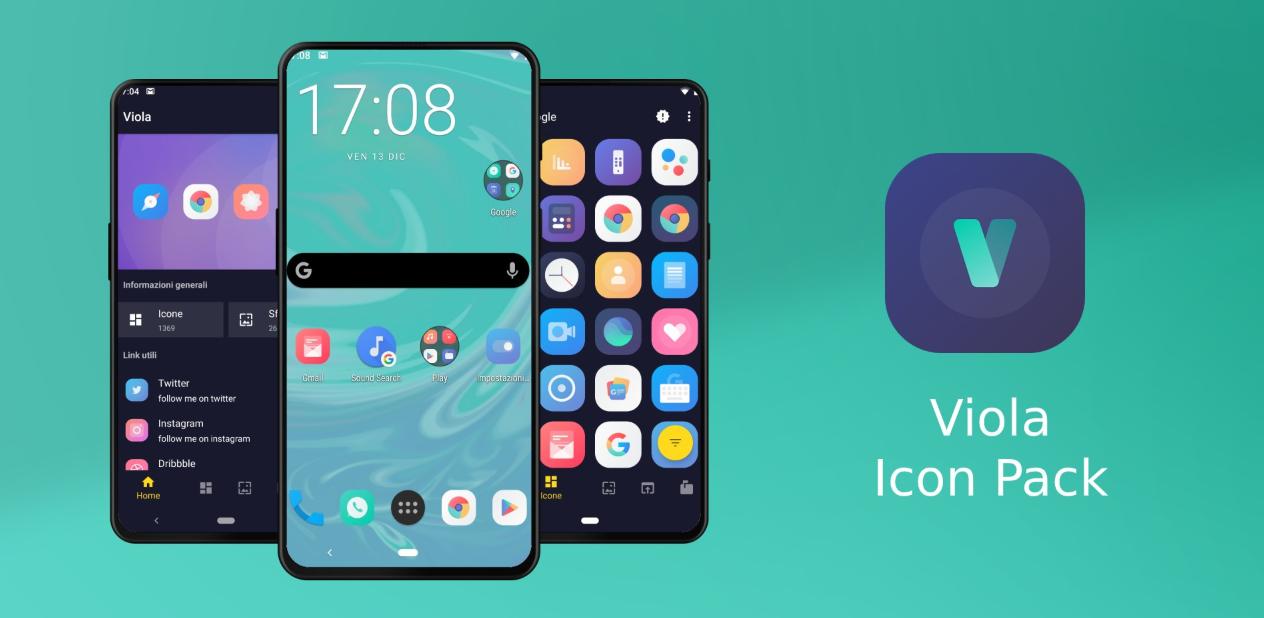 Photo of مع تطبيق Viola icon pack سيحصل هاتفك الأندرويد على مظهر نظام iOS