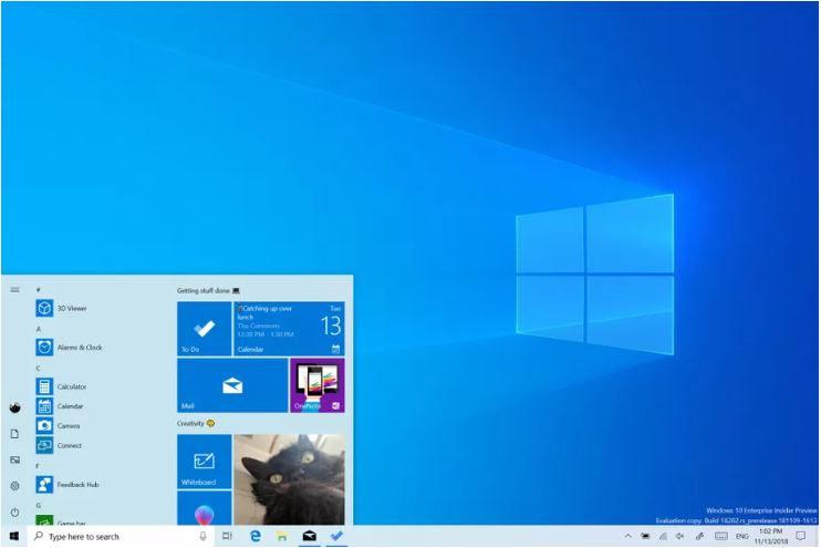 Photo of مايكروسوفت تبدأ في دفع تحديث Windows 10 لشهر مايو 2019