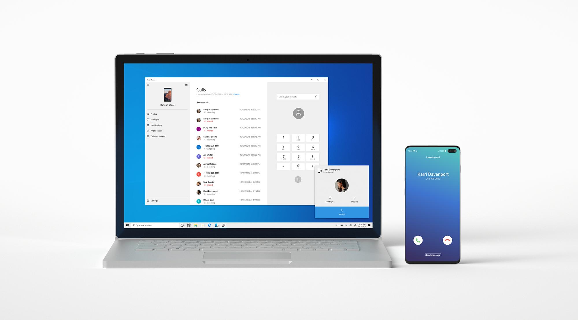 Photo of مايكروسوفت تُتيح ميزة المكالمات في تطبيقها Your Phone للجميع