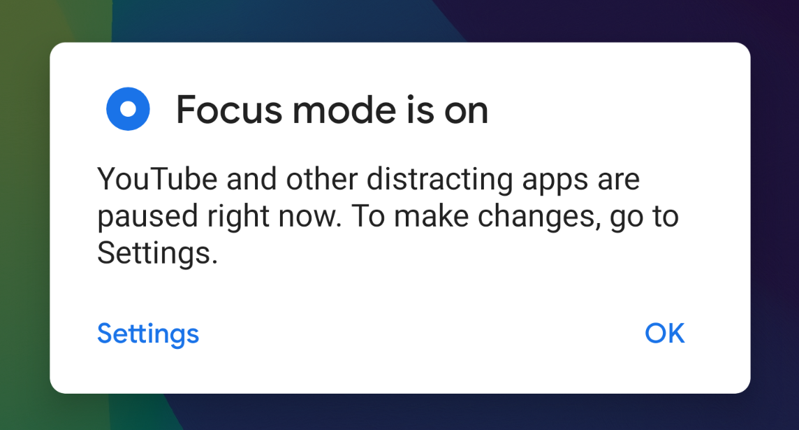 "Photo of جوجل تُضيف وضع التركيز ""Focus mode"" في تطبيقها Digital Wellbeing"