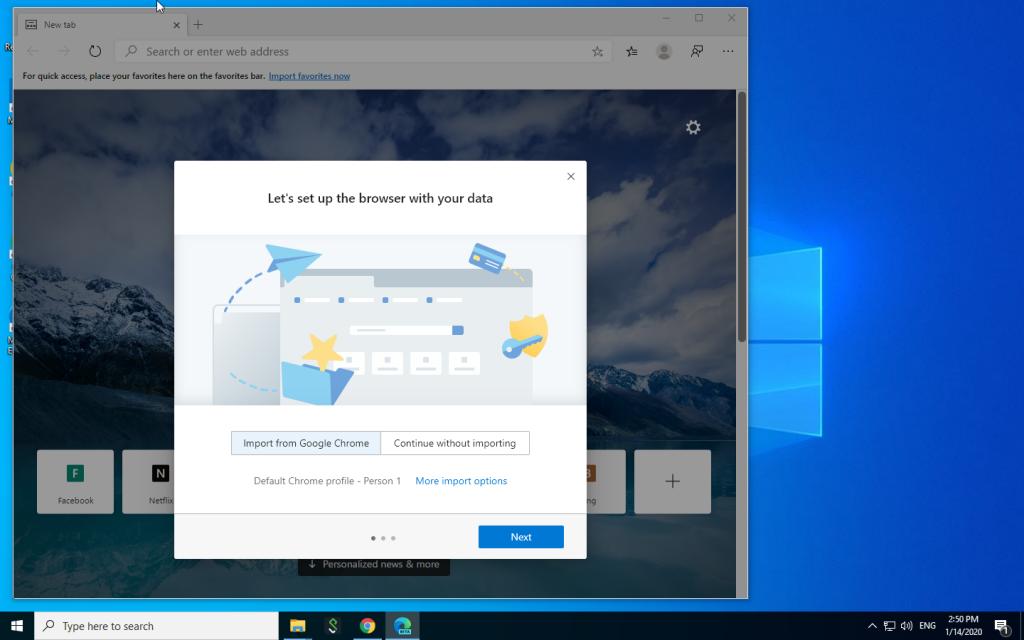 صورة مايكروسوفت تبدأ بإطلاق النسخة النهائية من إيدج كروميوم