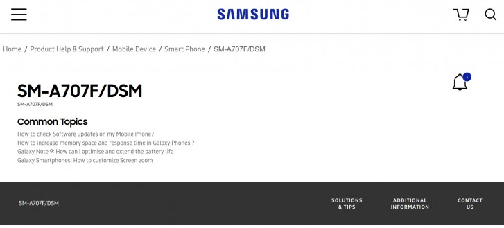 Photo of تسريبات TENAA تكشف عن بعض من مواصفات هاتف سامسونج Galaxy A70s